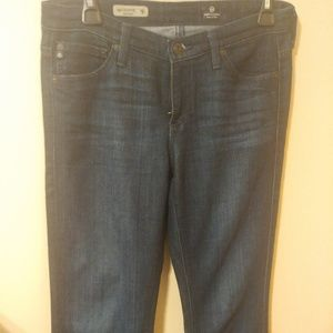 AG Adriano Goldschmied the Colette Dark Wash Jeans